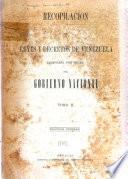 Indice general alfabético de la Recopilación de leyes y decretos de Venezuela: H-V