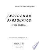 Indígenas paraguayos