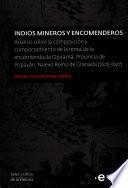 Indios mineros y encomenderos