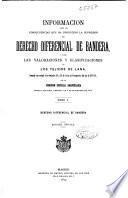 Información sobre las consecuencias que ha producido la supresion del Derecho Diferencial de Bandera y sobre las valoraciones y clasificaciones de los tejidos de lana: Derecho Diferencial de Bandera (856 p.) 1880