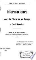 Informaciones sobre la educación en Europa y Sud América