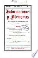 Informaciones y memorias