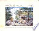 Informe Annual 1989
