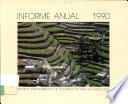 Informe Anual 1990