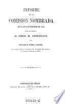 Informe de la Comision nombrada en 14 de diciembre 1868 para examinar el sistema de administracion del ferrocarril de Santiago a Valparaiso