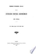 Informe de la Estación Experimental Agronómica