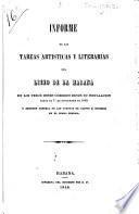 Informe de las tareas artísticas y literarias del Liceo de la Habana