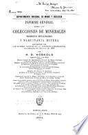 ... Informe general sobre las colecciones de minerales