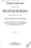Informe justificado que por órden del c. gobernador del estado de México rindió el alcalde presidente del Ayuntamiento de Axapusco del distrito de Otumba sobre la representación que varios vecinos de Nopaltepec elevaron