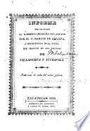 Informe presentado al Gobierno Supremo del Estado por el C. Marcos de Esparza, a consecuencia de la visita que practicó en los partidos de Villanueva y Juchipila, etc