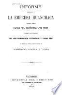 Informe relativo a la empresa Huanchaca