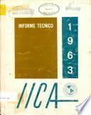 Informe Tecnico 1963