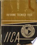 Informe Tecnico 1966