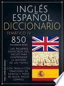 Inglés Español Diccionario Temático 4