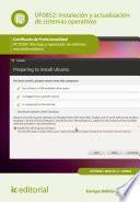 Instalación y actualización de sistemas operativos. IFCT0309