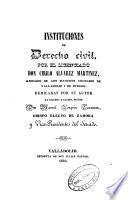 Instituciones de Derecho Civil