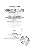 Instituciones de derecho mercantil de España