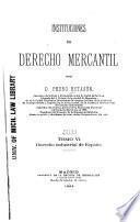 Instituciones de derecho mercantil: Derecho industrial de España