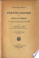 Instituciones de la provincia de Corrientes