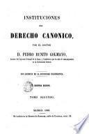 Instituciones del derecho canonico, 2