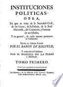 Instituciones politicas