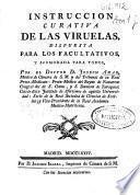 Instruccion curativa de las viruelas