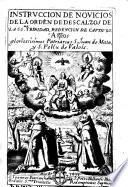 Instruccion de Novicios de la Orden de Descalzos de la Sma.Trinidad, Redención de cautivos