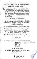 Instrucciones generales en forma de catecismo