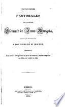 Instrucciones pastorales del licenciado Clemente de Jesus Munguia