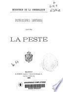 Instrucciones sanitarias contra la peste