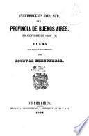 Insurrección del sud de la provincia de Buenos Aires en octubre de 1839