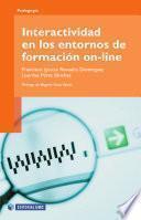 Interactividad de los entornos en la formación on-line