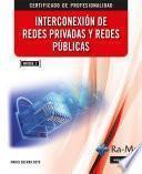 Interconexión de Redes Privadas y Redes Publicas. (MF0956_2)