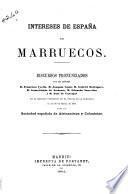 Intereses de España en Marruecos