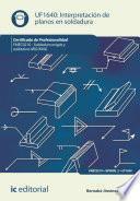 Interpretación de planos en soldadura. FMEC0210