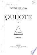 Interpretación del Quijote