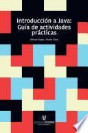 Introducción a Java: guía de actividades prácticas