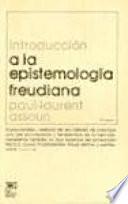 Introducción a la epistemología freudiana