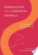 Introducción a la literatura Espanola