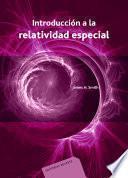 Introducción a la relatividad especial
