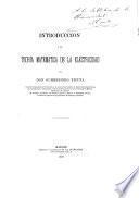 Introducción a la teoría matemática de la electricidad