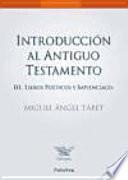 Introducción al Antiguo Testamento III