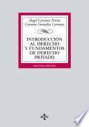 Introducción al Derecho y fundamentos de Derecho privado