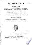 Introduccion al estudio de la astronomía física
