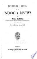 Introduccion al estudio de la psicología positiva