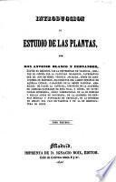 Introduccion al estudio de las plantas