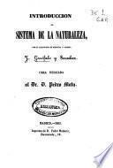Introducción al sistema de la naturaleza