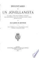 Inventario de un Jovellanista con variada y copiosa noticia de impresos y manuscritos, publicaciones periódicas, traducciones, dedicatorias, epigrafía, grabado, escultura, etc., etc