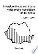 Inversión directa extranjera y desarrollo tecnológico en Rumanía