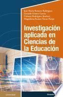 Investigación aplicada en Ciencias de la Educación